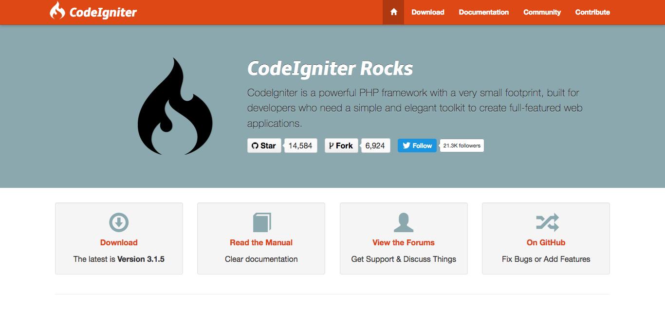 Web de codeigniter